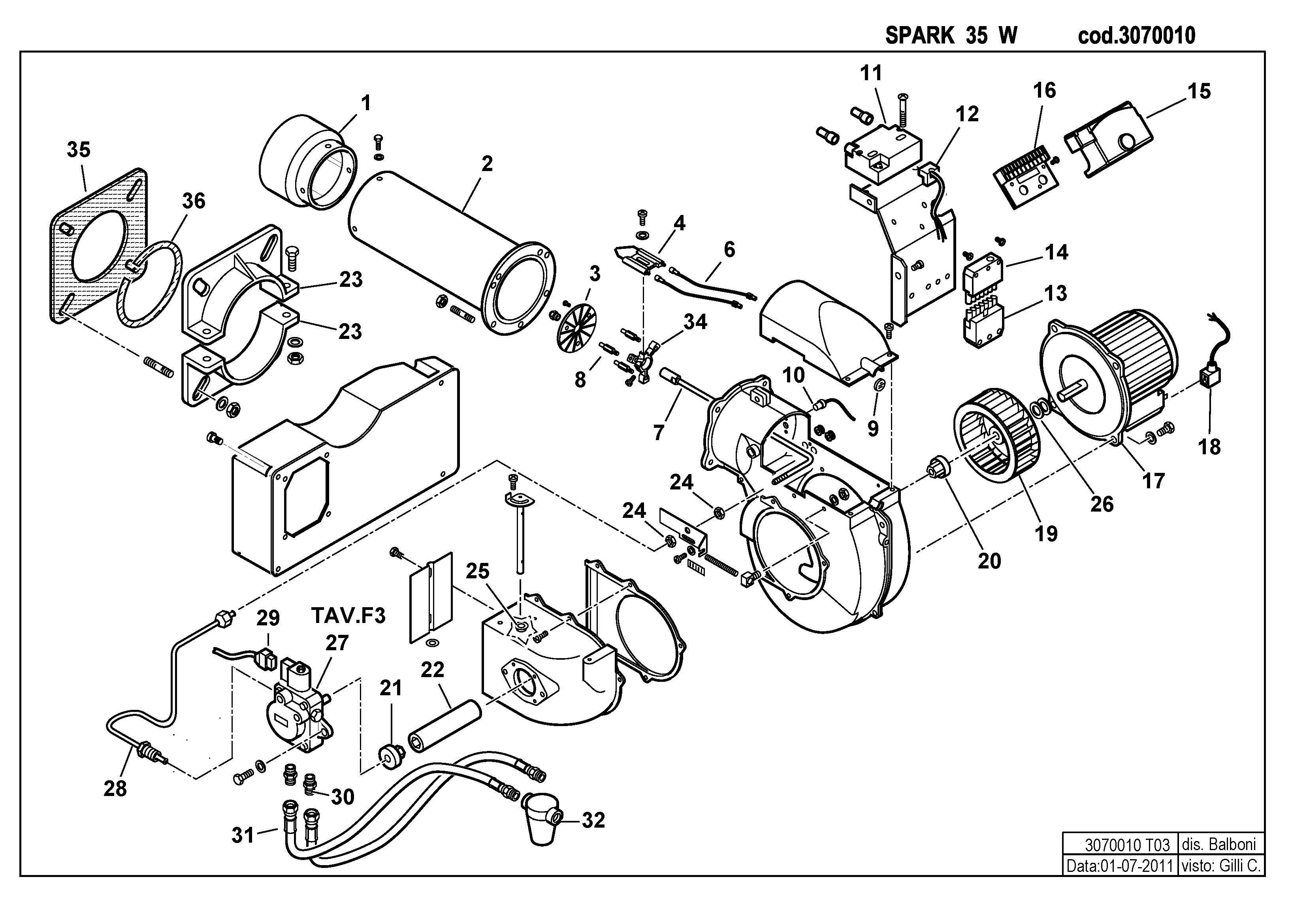 SPARK 35 W 3070010 3 20110701