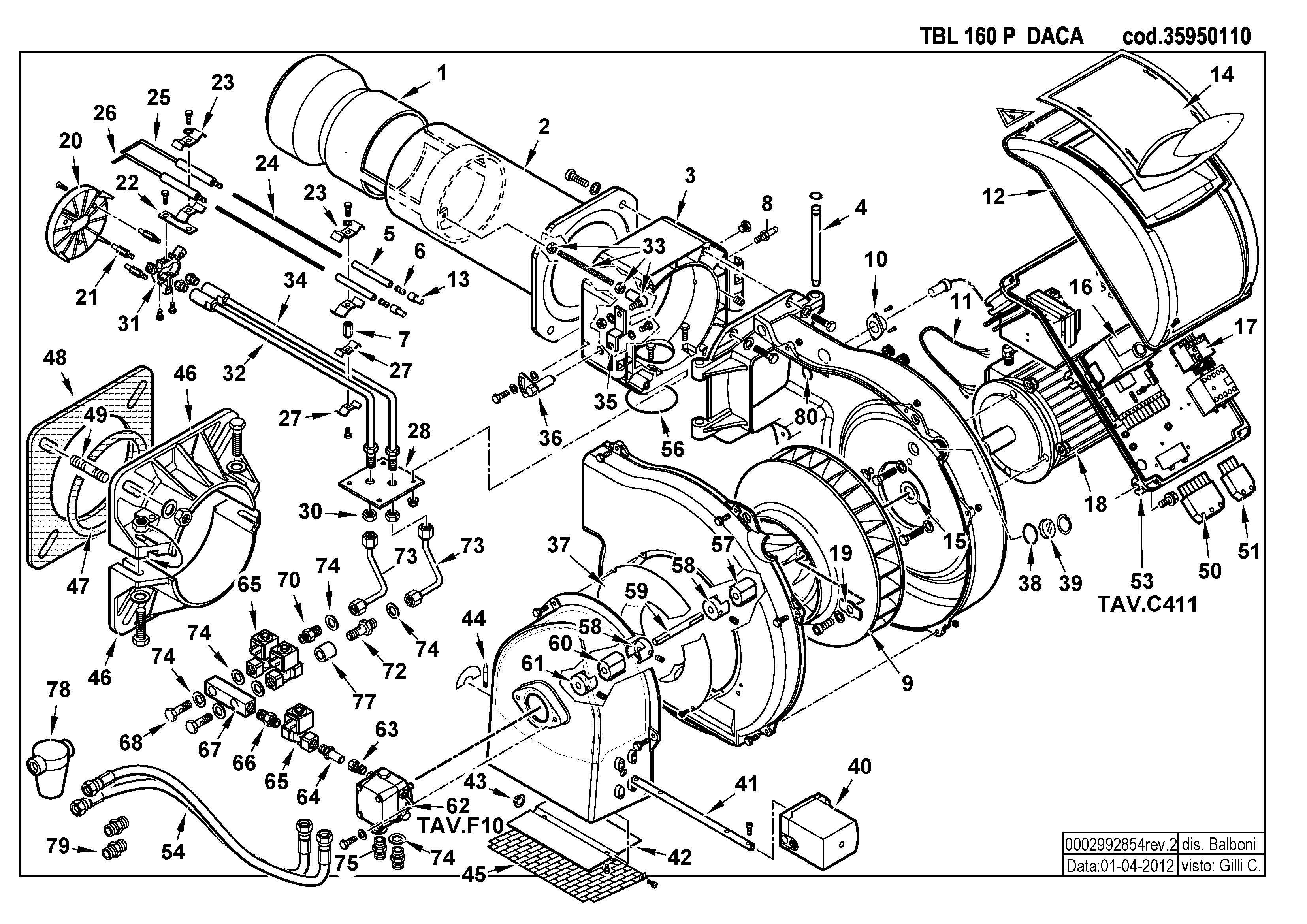 TBL 160 P DACA 35950110 2 20120401