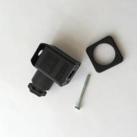 Разъём электрический 12B чёрный антиразъемный
