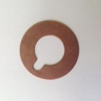 Шайба D.14х28х0,5 CU (медь) INTERPUMP