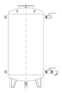 Бак питательной воды (вертикальный) - FW/V